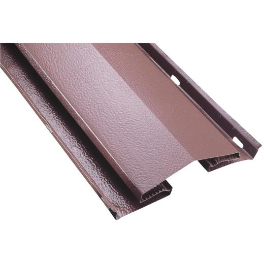 Air Vent 8 Ft. Brown Aluminum Continuous Unfiltered Ridge Vent