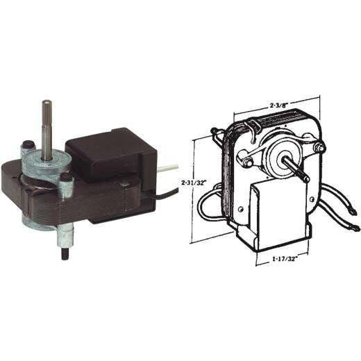 United States Hardware 115V Copper & Zinc Mobile Home Exhaust Fan Motor