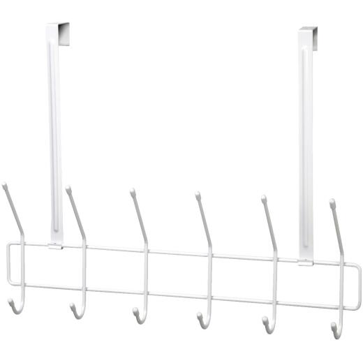 ClosetMaid 19 In. 6-Hook Over-The-Door Hook Rail