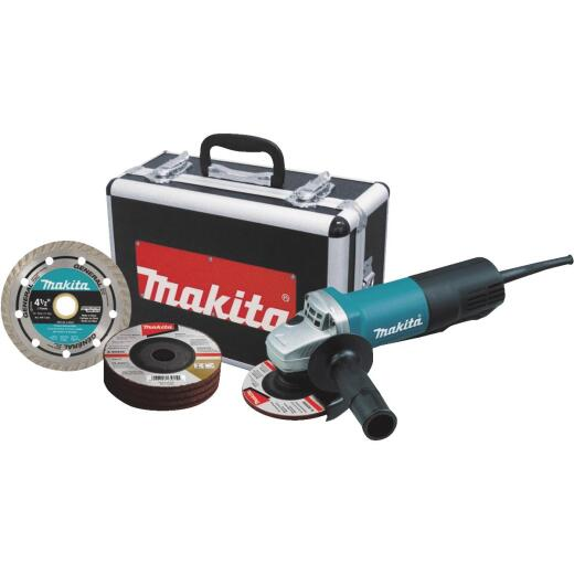 Makita 4-1/2 In. 7.5-Amp Cut-Off/Angle Grinder
