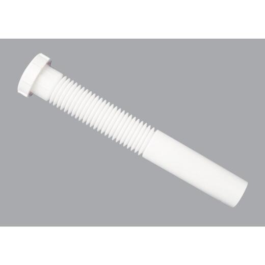 Do it 1-1/4 In. x 9 In. White Plastic Extension Tube