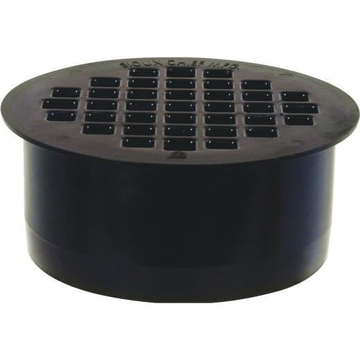 Sioux Chief 4 In. ABS Floor Drain