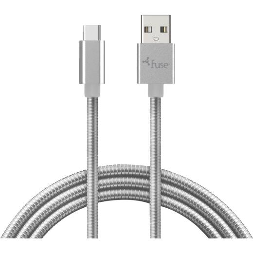 Fuse 3 Ft. Metal USB Type-C Charging & Sync Cable