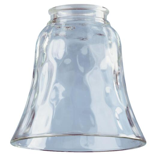 Westinghouse 4-3/4 In. Pebbled Clear Glass Shade