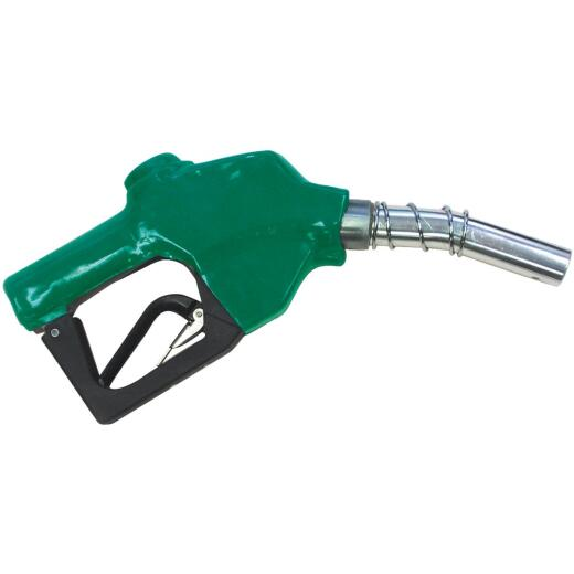 Universal 1 In. Spout Auto Shut-Off Diesel Fuel Nozzle, Green