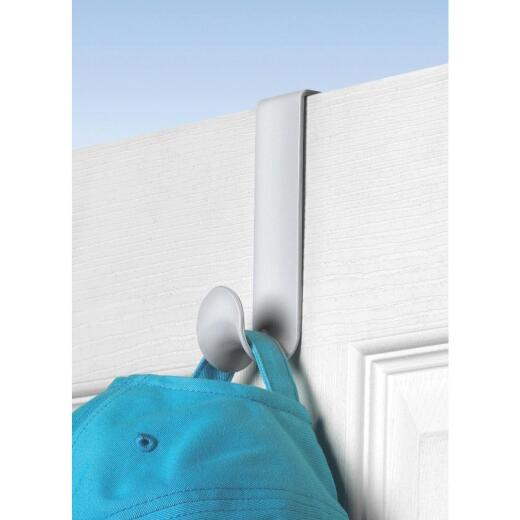 Spectrum White Plastic Over-The-Door Hook 4-3/4 In.