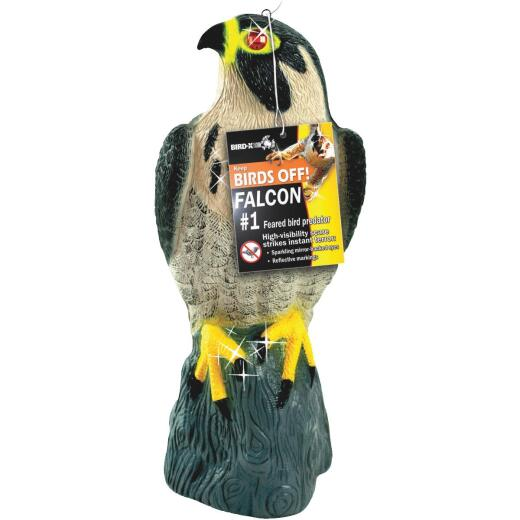 Bird X 17 In. H. x 8 In. Dia. Falcon Pest Deterrent Decoy