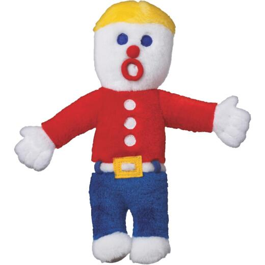Multipet 10 In. Plush Mr. Bill Dog Toy