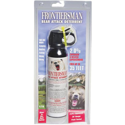 Sabre Frontiersman 9.2 Oz. Black Bear Attack Deterrent Spray