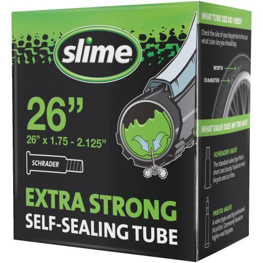 Slime Pre-Filled 26 In. Self-Sealing Bicycle Tube