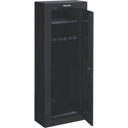 Stack-On 21 In. W. x 55 In. H. x 10 In. D. Heavy-Gauge Steel 8-Gun Lockable Cabinet