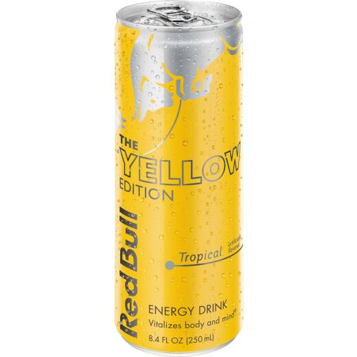 Red Bull 12 Oz. Tropical Flavor Energy Drink