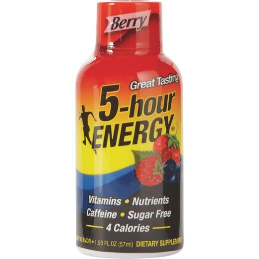 5 Hour Energy 1.93 Oz. Berry Flavor Energy Drink